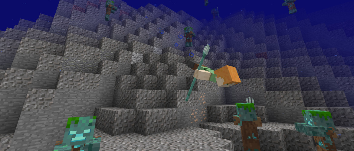 Minecraft S Aquatic Update Beta Is Now Available On Xbox