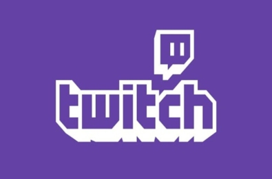 A logo of Twitch TV livestreaming