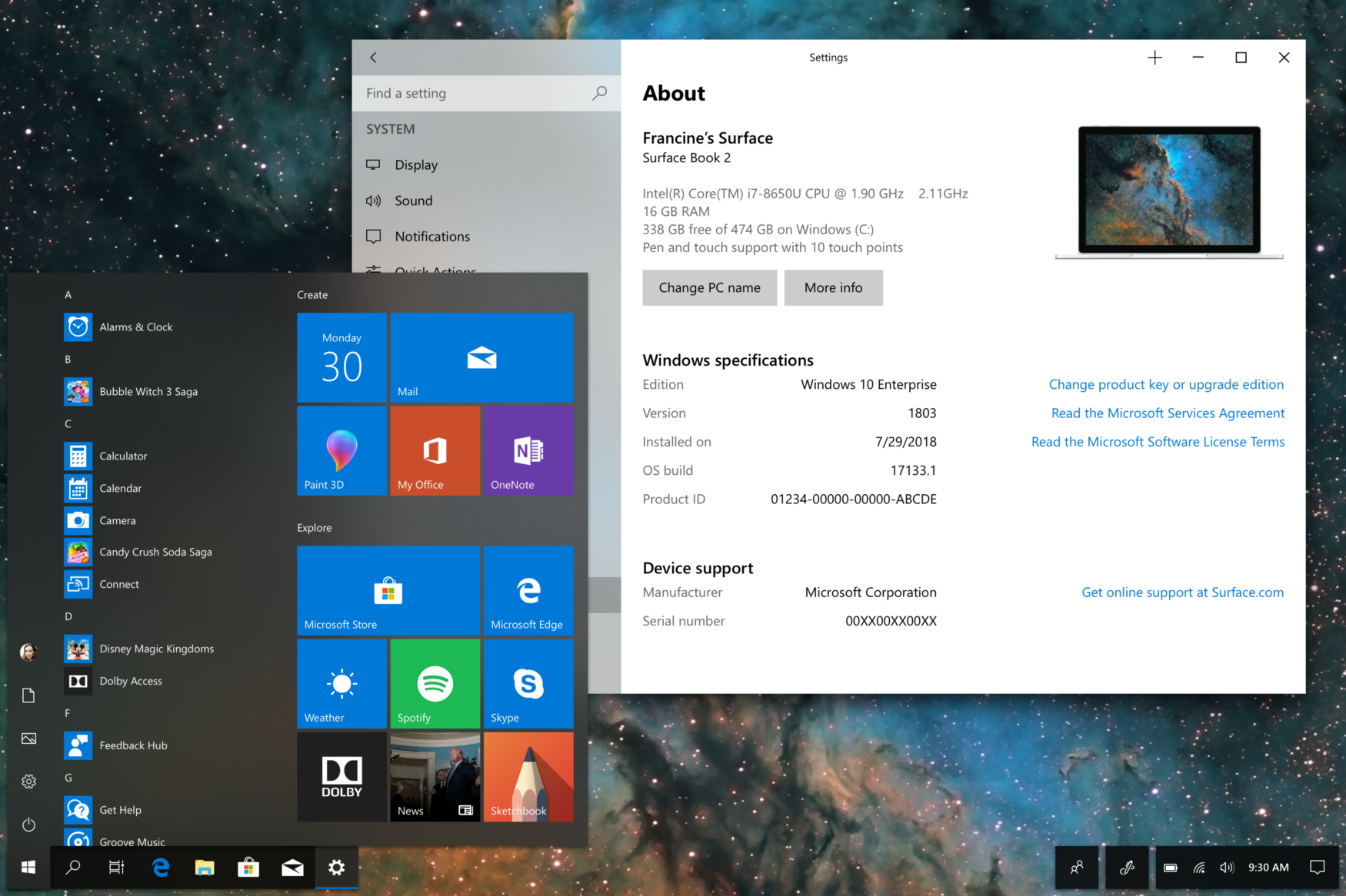 This Windows 10 concept brings more Fluent to the desktop
