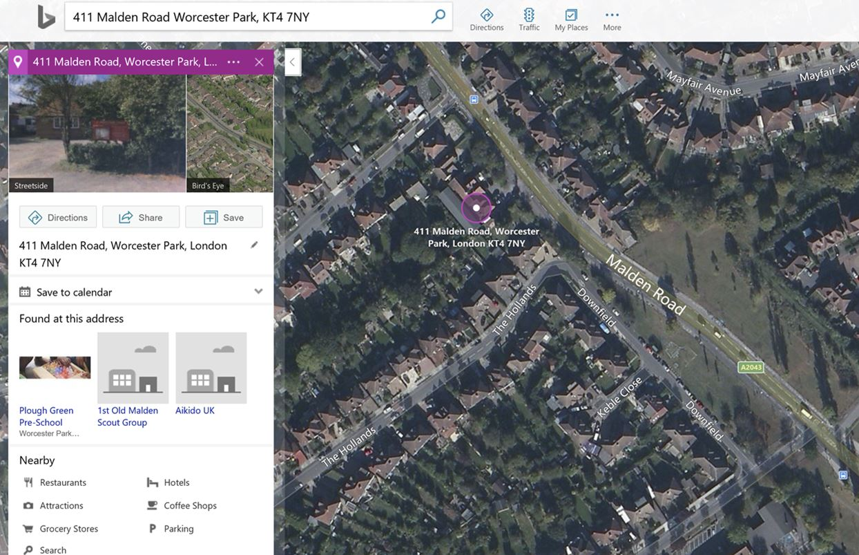 Bing Maps Uk Updated With Rooftop Address Geocoding For Improved