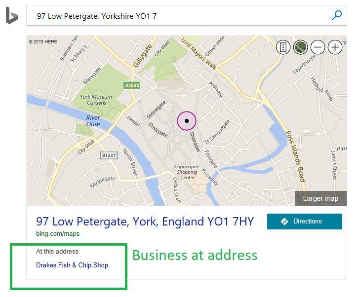 these new features will improve our users experience when searching for addresses places maps directions etc on bingcom