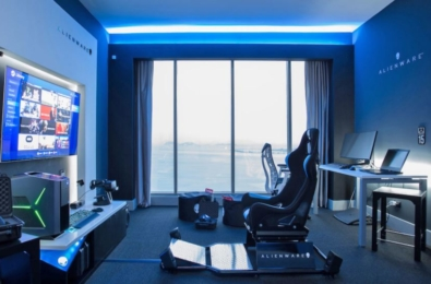 Alienware opens up a new gaming suite in Panama City's Hilton hotel 7