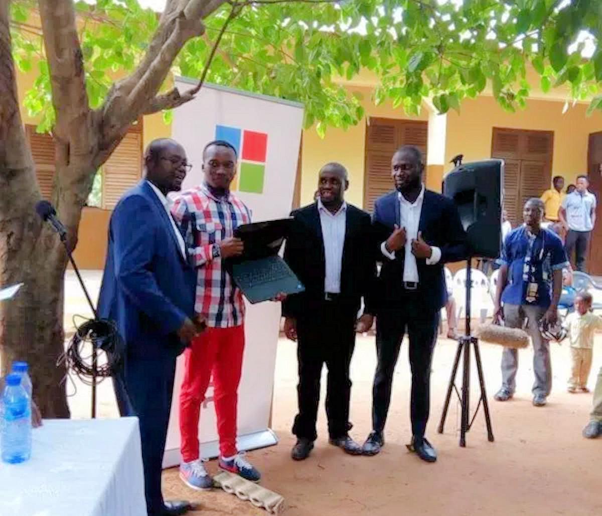 Follow-up: Microsoft donates technology to Ghanaian school with dedicated CS teacher 1
