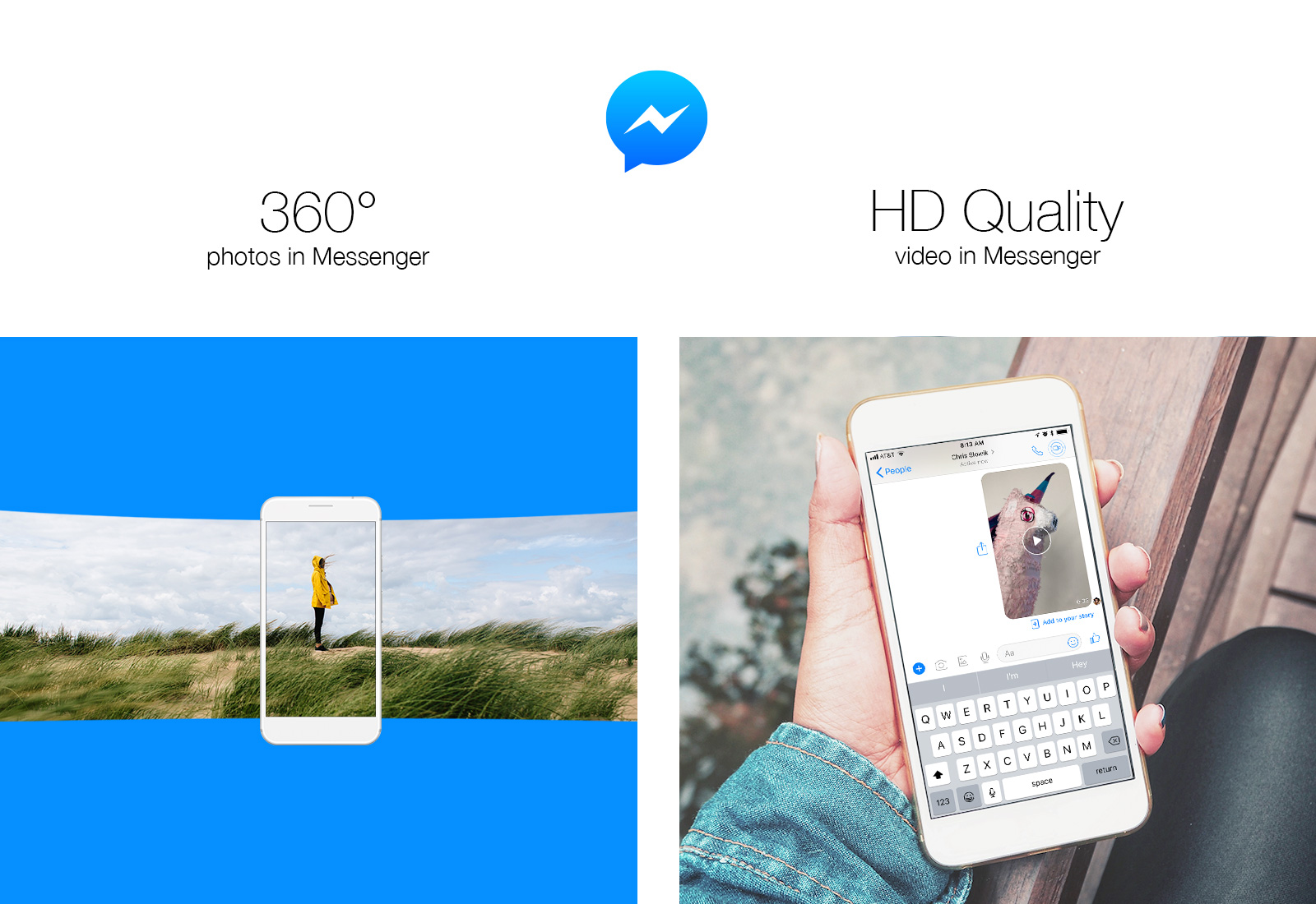 facebook messenger adds support for 360 degree photos and hd quality