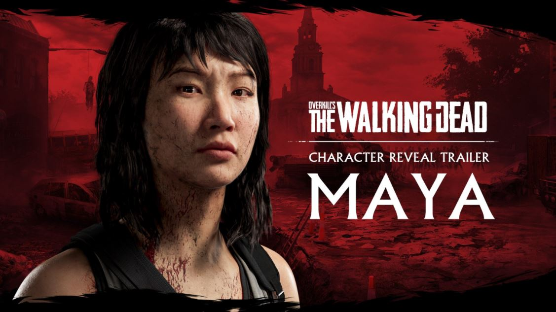 Overkill's The Walking Dead Trailer Details New Character Maya