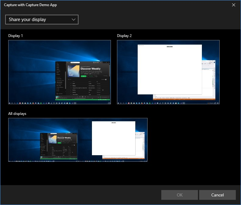 Windows 10 scu includes new screen capture api mspoweruser for Screen new window