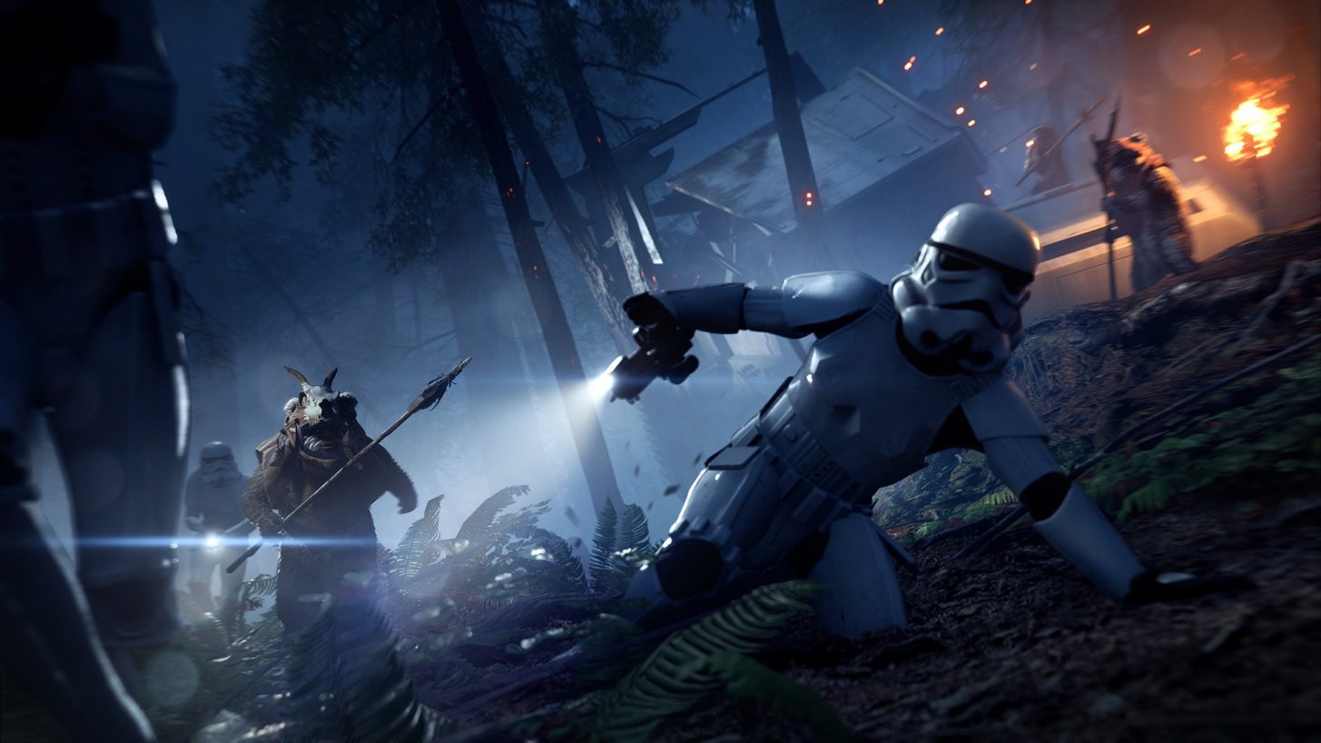 Playable Ewoks join Star Wars Battlefront II in a limited-time mode on April 18 1