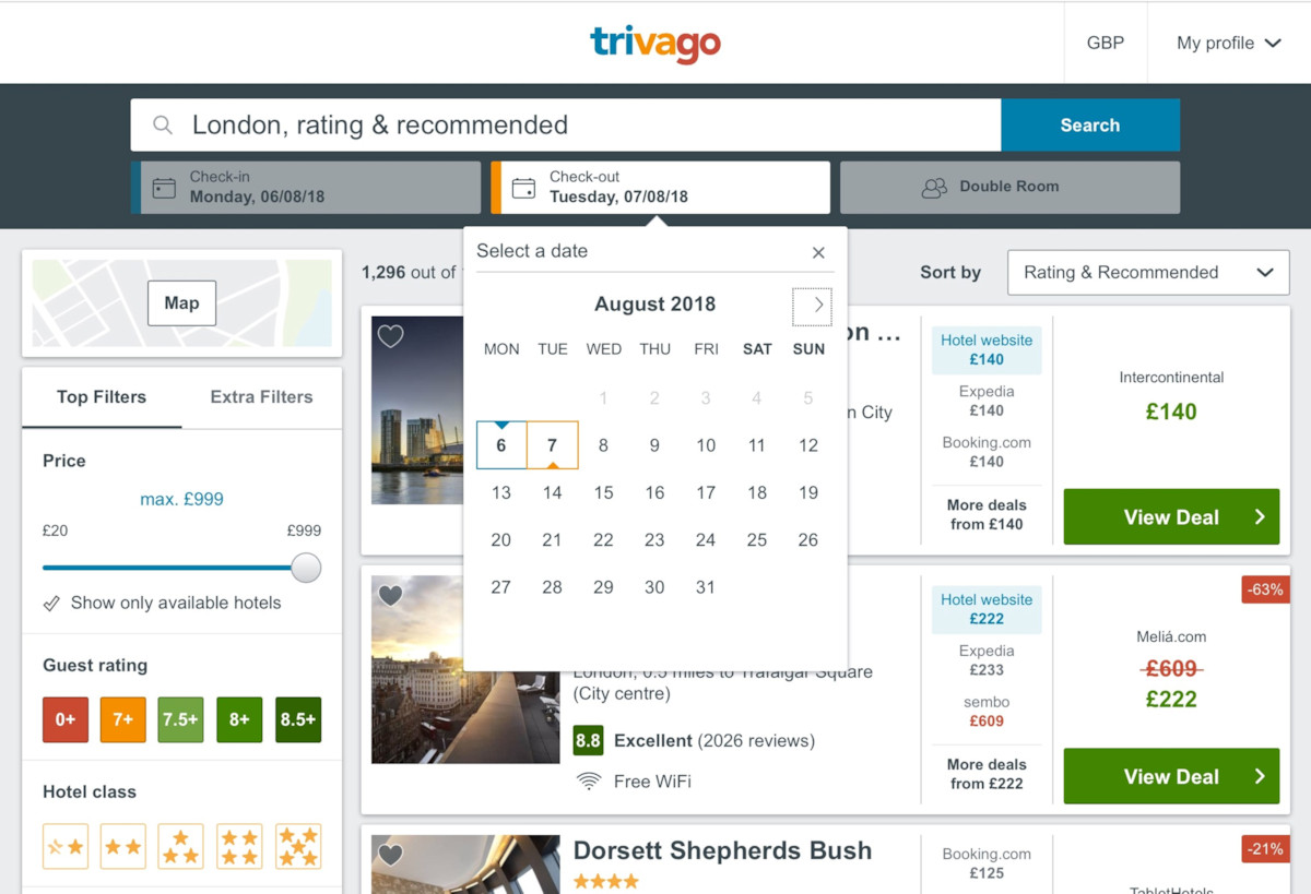 Official Trivago PWA App Now In The Microsoft Store