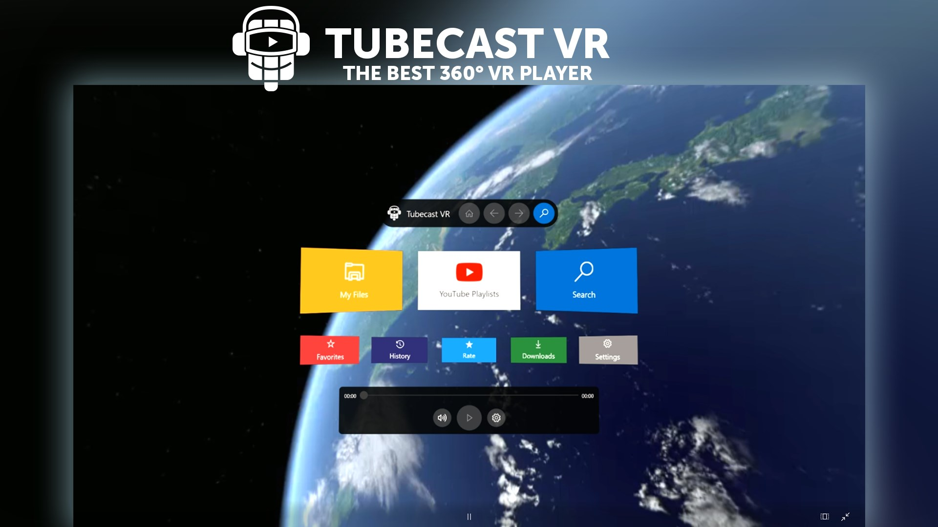 TubeCast VR brings immersive 3D YouTube to Windows Mixed