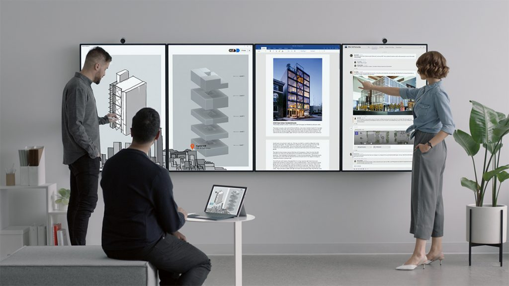 Microsoft reveals two new Surface Hub devices – Surface Hub 2S and Surface Hub 2X 1
