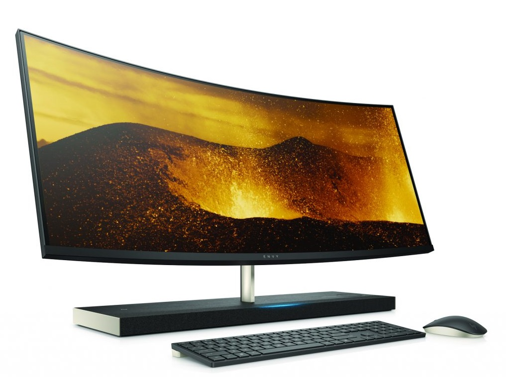hp envy curved aio 34 to be first alexa enabled pc mspoweruser. Black Bedroom Furniture Sets. Home Design Ideas