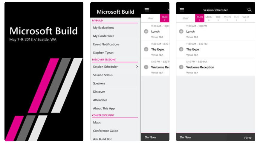 microsoft build ios and android apps updated for this year s