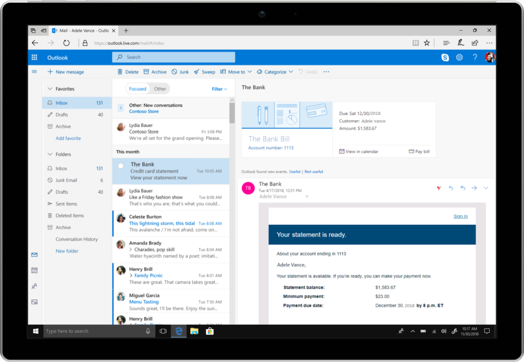 Microsoft announces several new Outlook features for ...