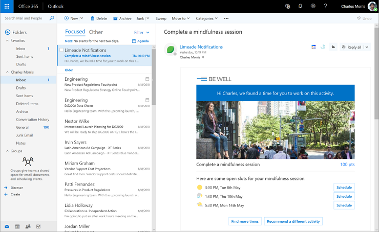 Outlook to Soon Let You Pay Bills, Invoices Without Leaving the App