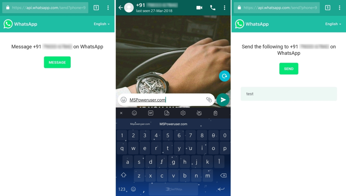 New WhatsApp update will allow you to send messages to people