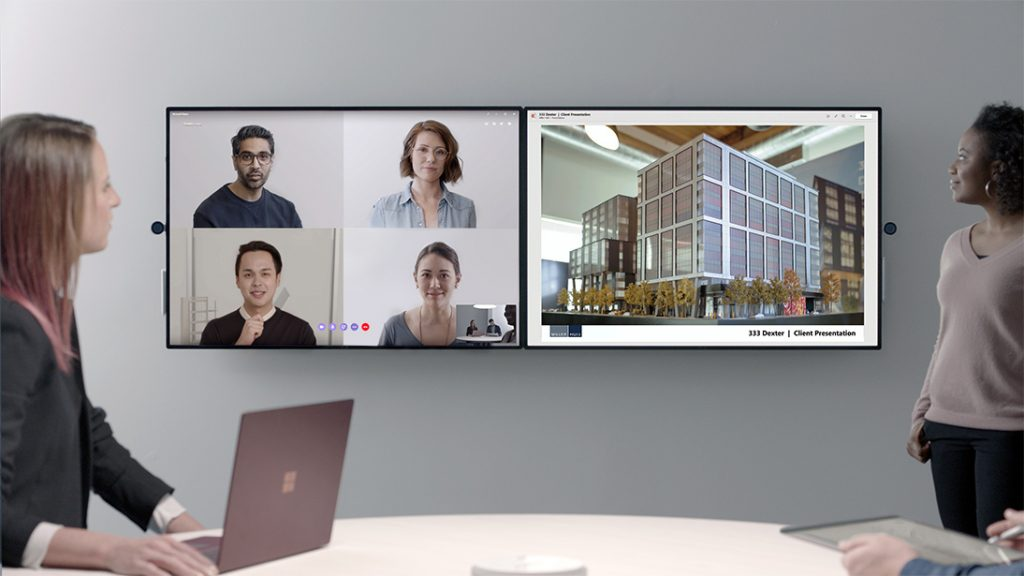 Microsoft officially announces Surface Hub 2 for Businesses