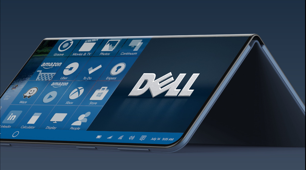Dell is reportedly working on a dual-screen device with Windows 10