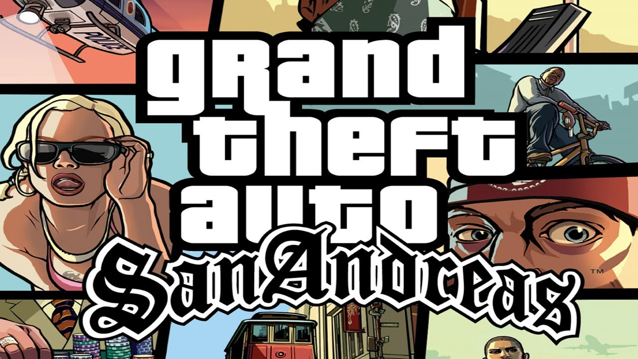 Grand Theft Auto San Andreas : Grand theft auto san andreas games are now