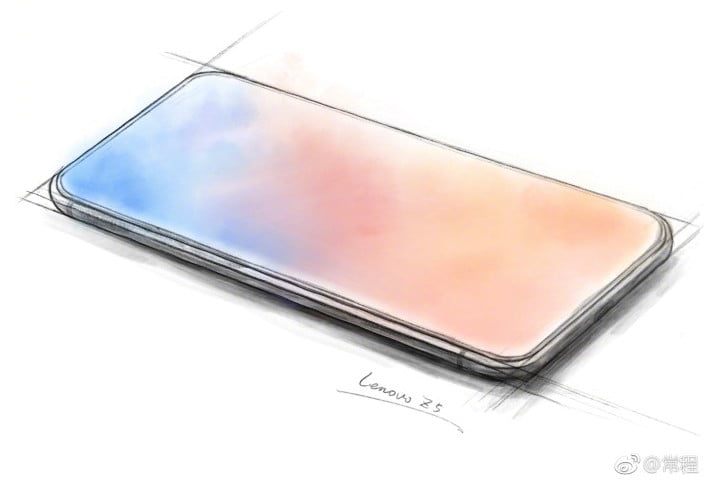 Lenovo Z5 looks incredible without notch or bezels - MSPoweruser