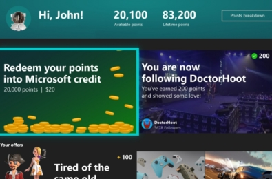 Microsoft Rewards app is now available for everyone on Xbox One 11