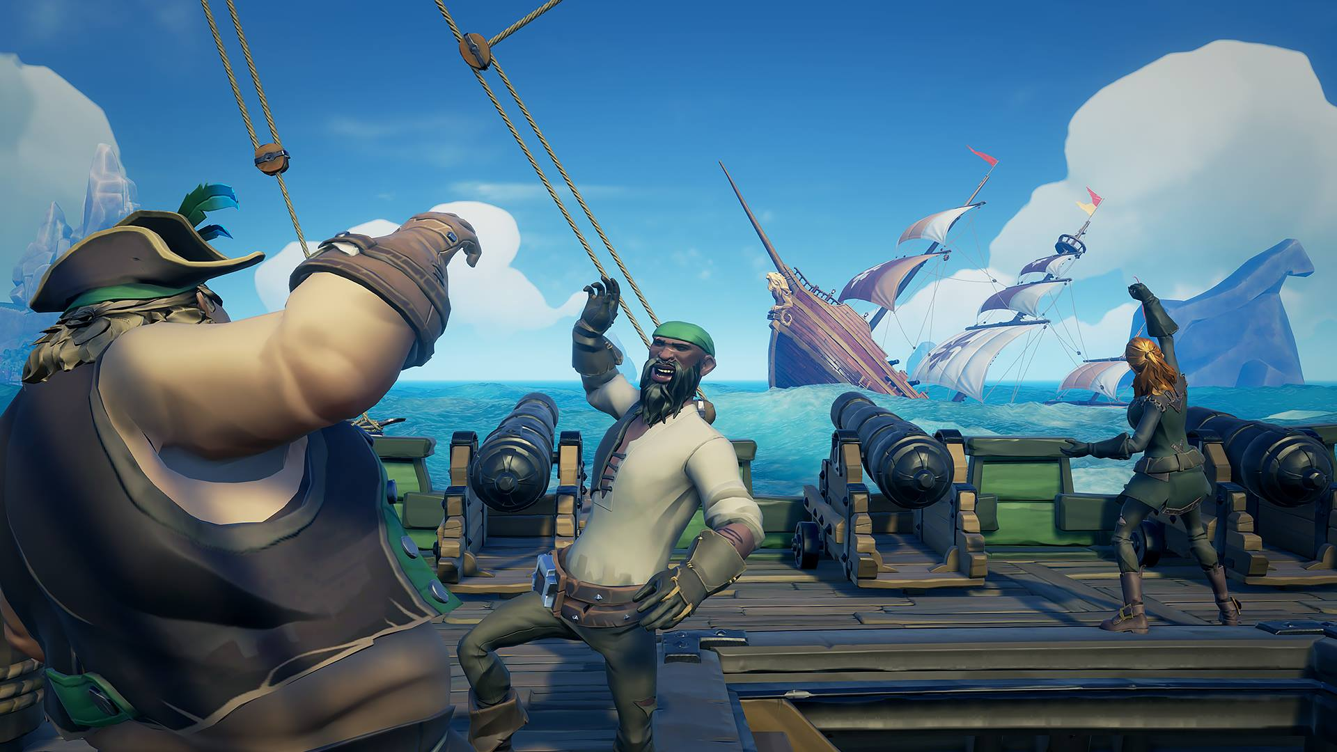 Tomorrow S Sea Of Thieves Patch Adds The Ability To Discard