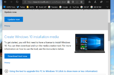Tip: How to easily download the Windows 10 ISO without using the Media Creation Tool 3
