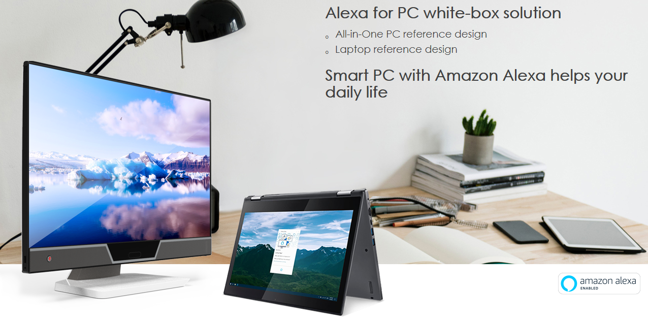 Amazon makes it easy for OEMs to build Alexa-enabled PCs 1
