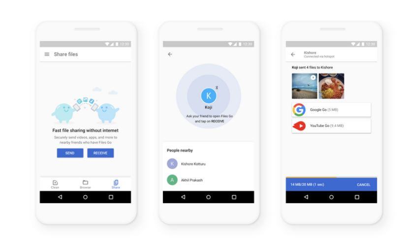 Google takes on Apple AirDrop with a major upgrade of its
