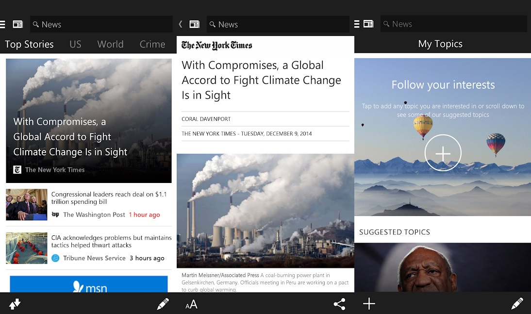 MSN News becomes Microsoft News with the latest beta update on Android 1