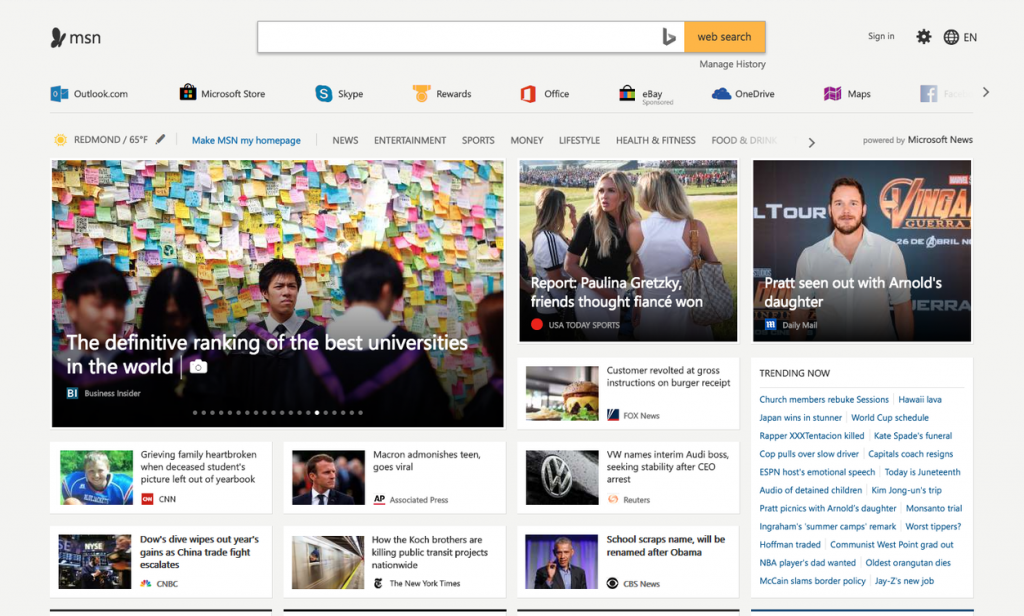 Microsoft introduces its Google News competitor 'Microsoft News'