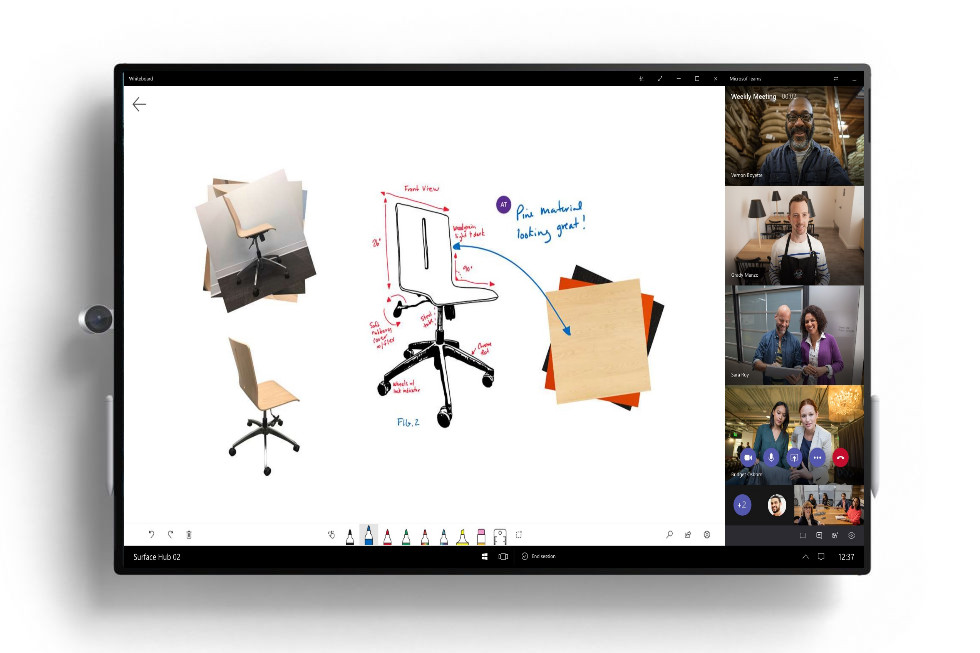 Microsoft Teams for Surface Hub Preview now available to download 1