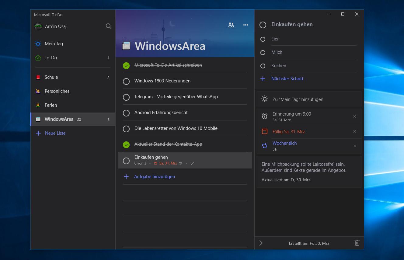 windows 10 kontakte app