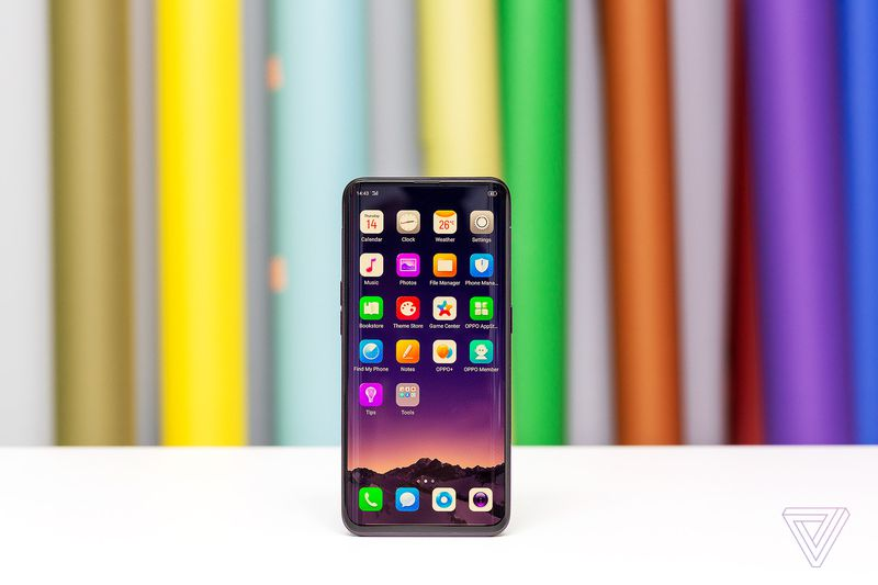 OPPO Find X with All Screen Design, Pop-up Cameras Launched