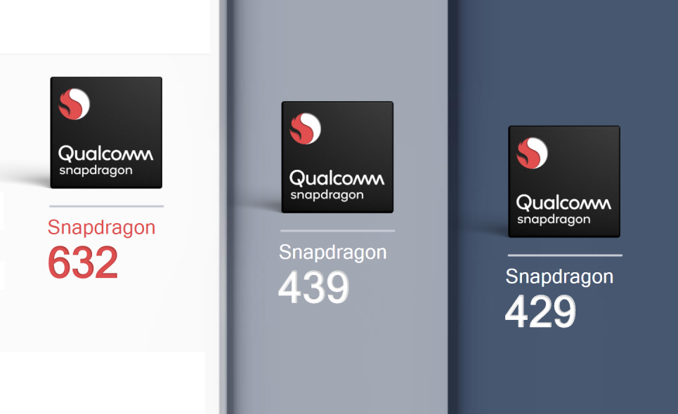 Qualcomm officially launches Snapdragon 632, 439, and 429 for mid-range smartphones
