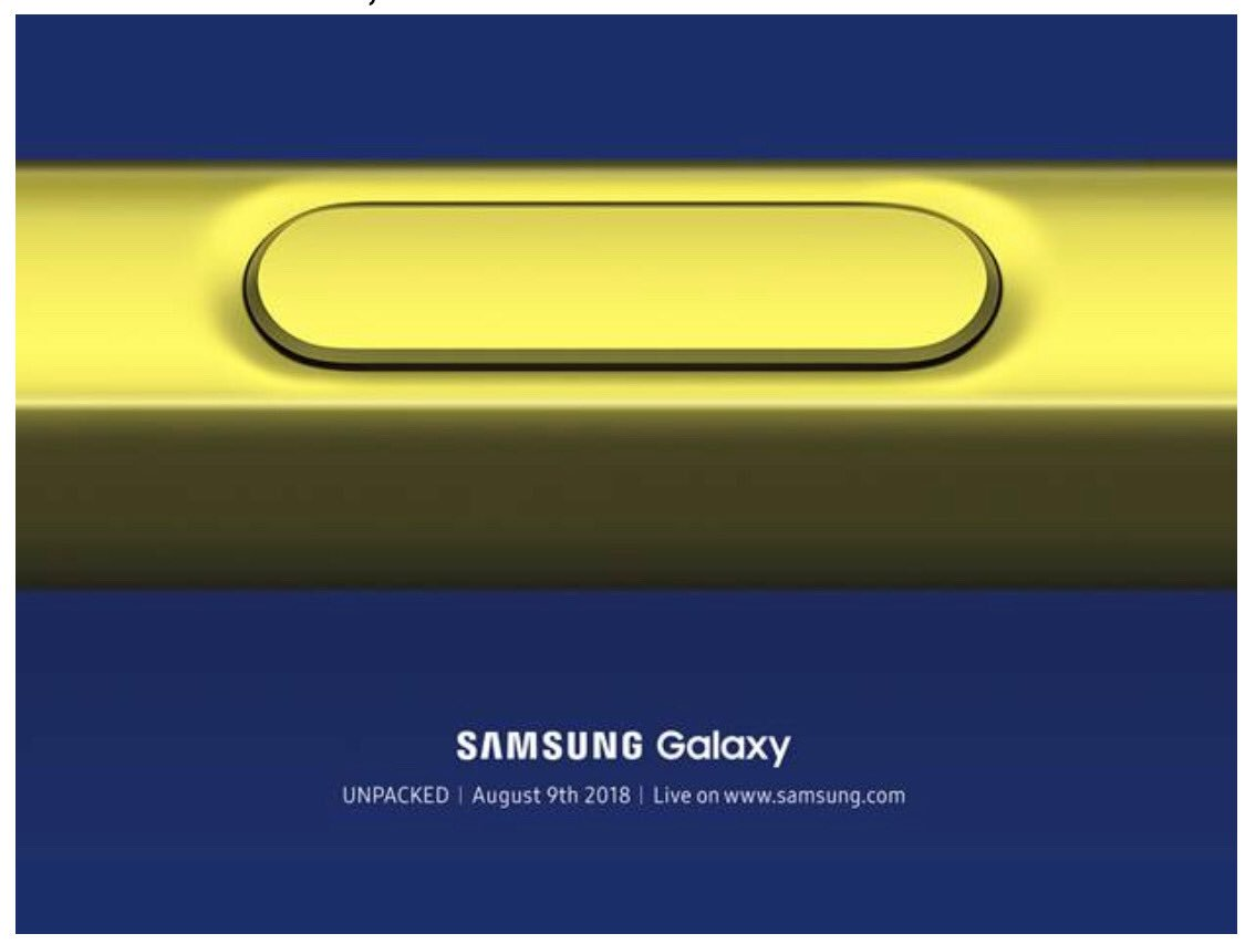 Samsung Galaxy Note9 launch teased for 9th August