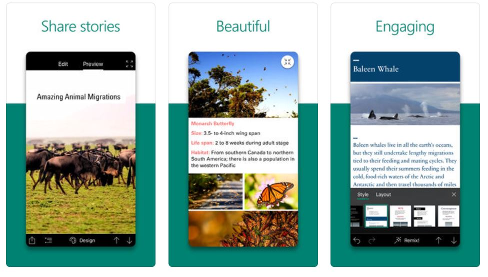 Microsoft Sway for iOS gets a major update with several new features 1