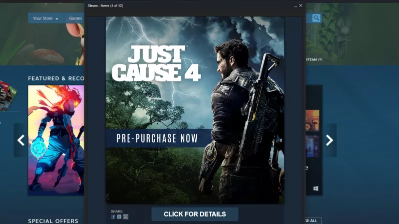 Just Cause 4 accidentally leaks online ahead of E3 launch