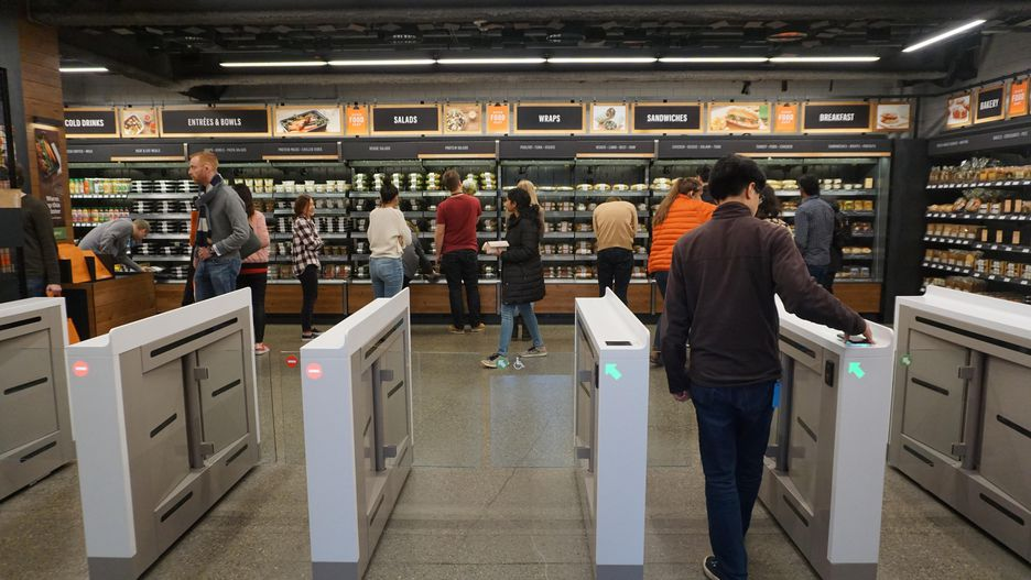 Microsoft developing Amazon Go-like shopping system, report says