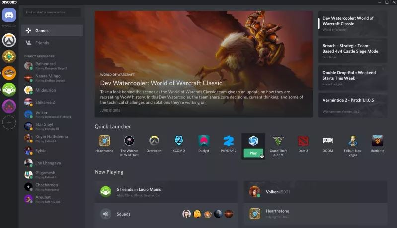 Discord adds a new Games tab just like Steam - MSPoweruser