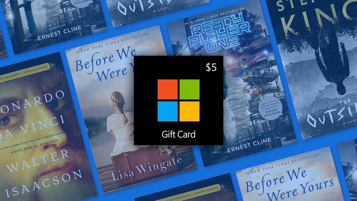 Microsoft offering $5 free credit if you buy a $4.99 eBook in the Microsoft Store 1