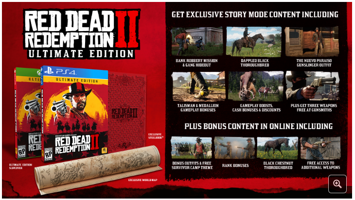 pre order red dead redemption 2 xbox