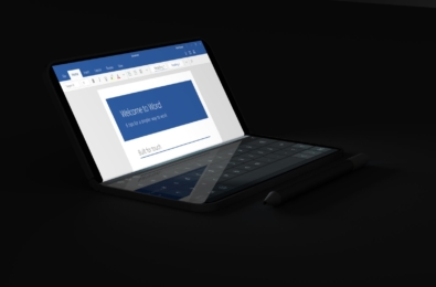 Microsoft's mythical Surface Phone gains folding screen, pop-open glance mode 13