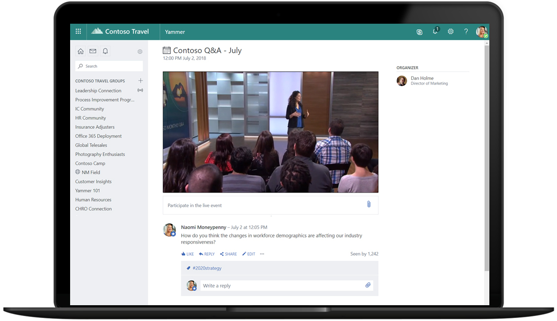 Microsoft Teams is now available to use for free