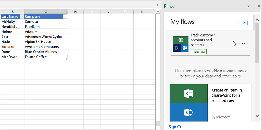 You can now build and run flows in Excel - MSPoweruser