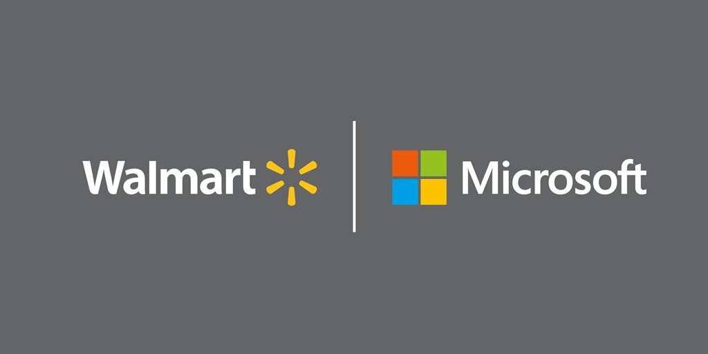 Microsoft and Walmart Take on Amazon With New Partnership