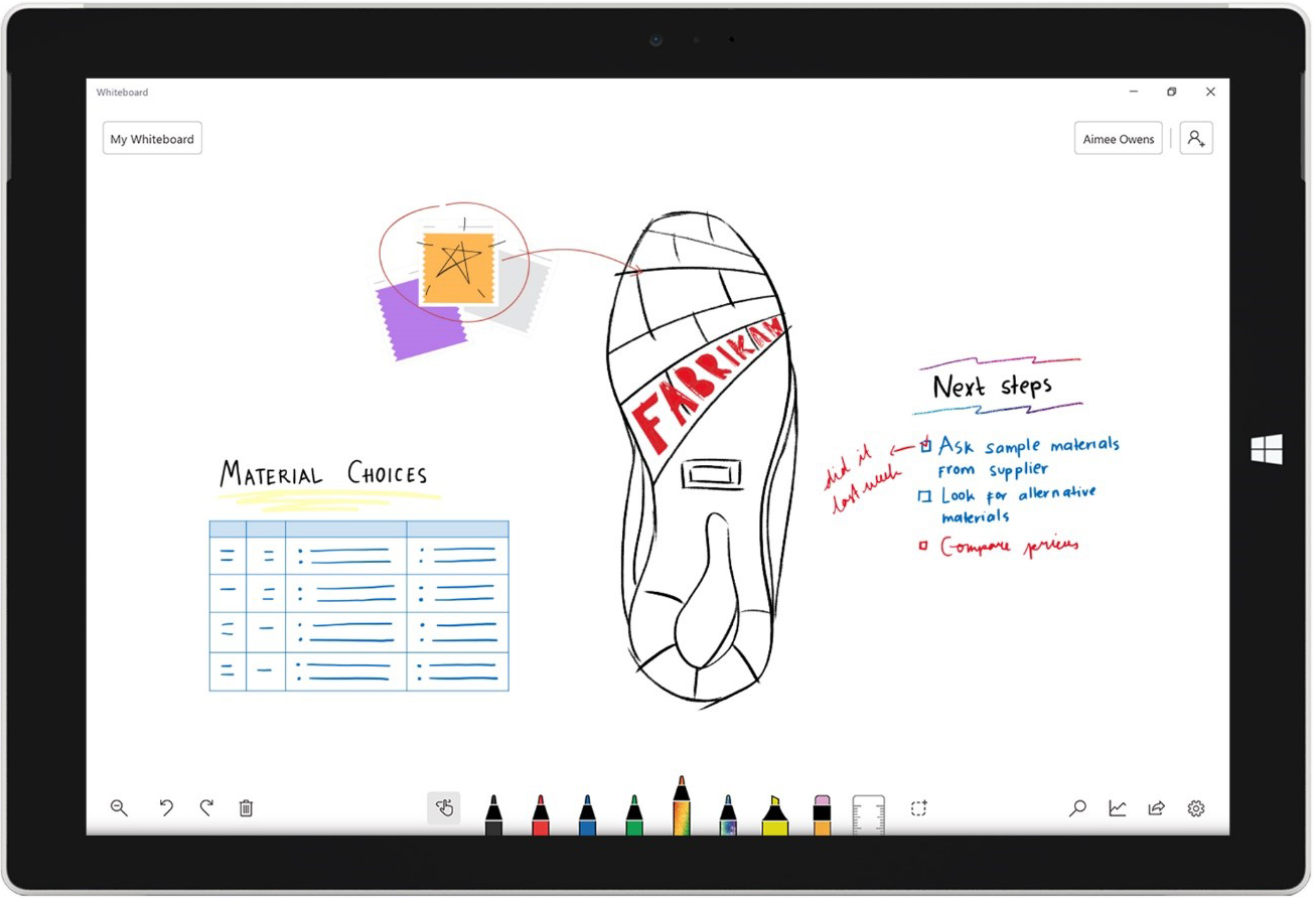Microsoft Whiteboard app coming soon to iOS and the web ...
