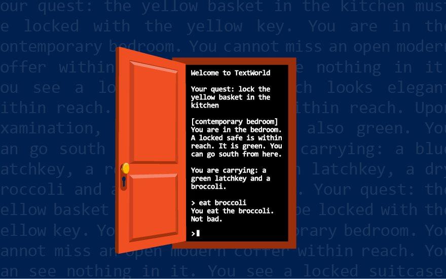 Microsoft Research announces TextWorld, an extensible
