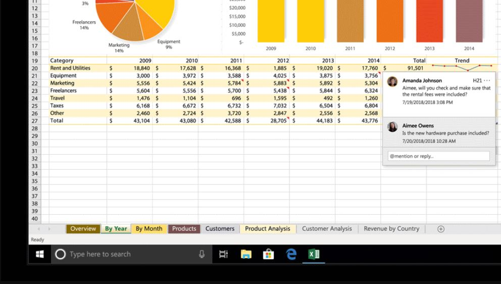 Microsoft brings threaded comments to Excel 1