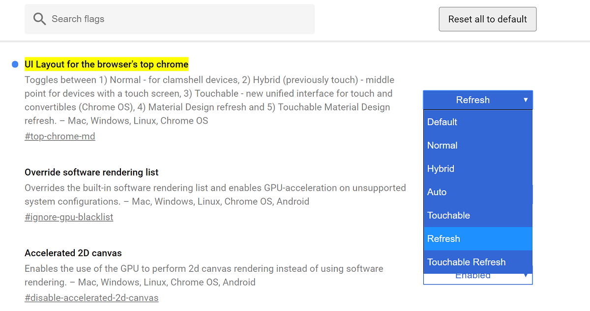 Get Chrome's new Material Design UI now in the stable