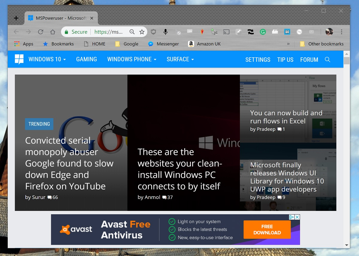 Google finally supports a native Windows 10 feature with Chrome notifications in the Action Centre 1